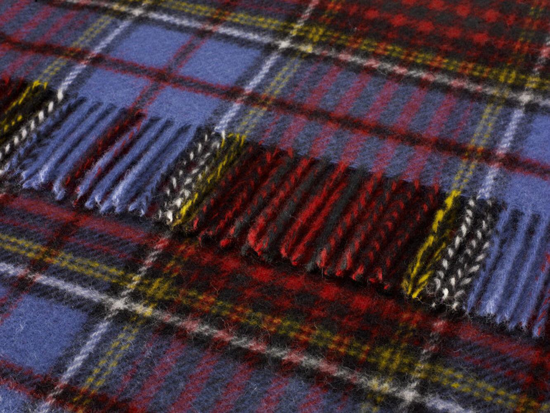 Bronte Luna 100% lana Británica en Manta de viaje alfombra de rodilla en Anderson Tartan