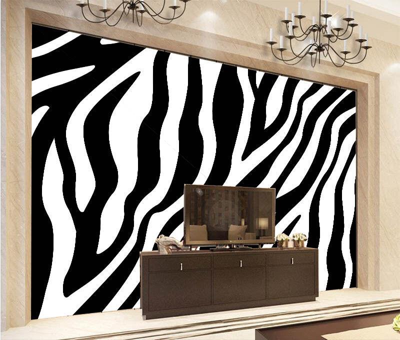 3D Zebra Stripes 944 Wall Paper Wall Print Decal Wall Deco Wall Indoor Murals