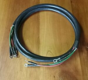 Evinrudejohnson Trolling Motor Electrical Cable Nos 390701 Pb 4 Ebay