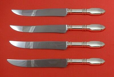 Antiques Other Antique Furniture Robert Bruce By Graff W And D Sterling Steak Knife Set Texas Sized Custom Refreshing And Enriching The Saliva