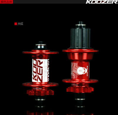 XM490 Hubs 32H 4 Bearing MTB Mountain Bike disc brake Hub Front Rear skewer set