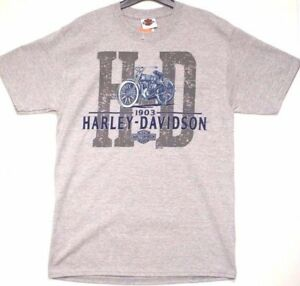 Genuina-Harley-Davidson-hombre-nombre-antiguo-Robin-Hood-Nottingham-Distribuidor-Camiseta