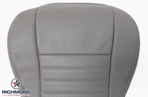Driver Bottom Leather Seat Cover Gray 1999 2000 Ford Mustang GT V8 Convertible