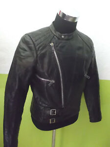 vintage-70-s-Motorradjacke-Bikerjacke-biker-oldschool-motorcycle-leather-jacket