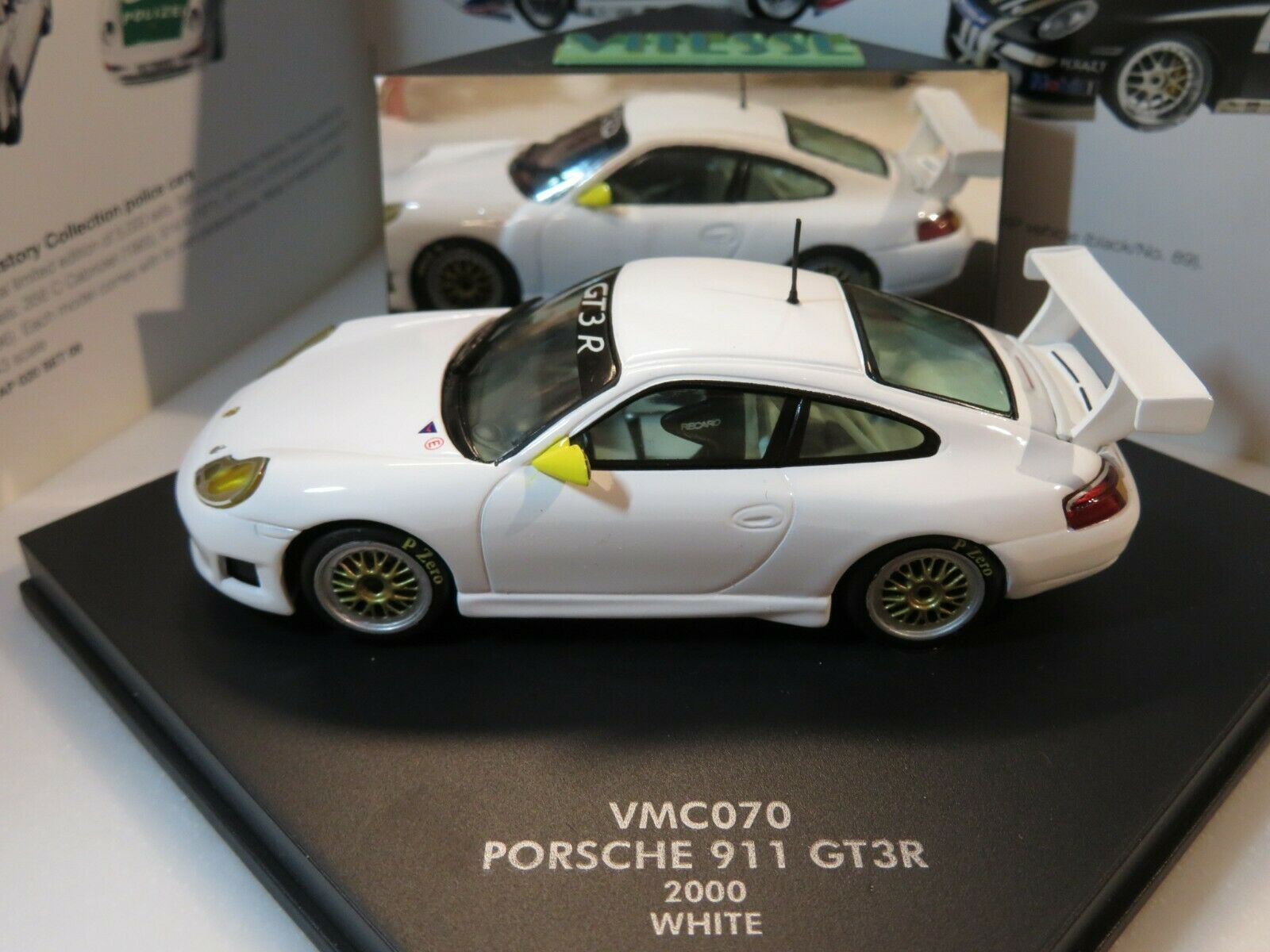 1 43 VITESSE PORSCHE 911 GT3R (2000) Diecast