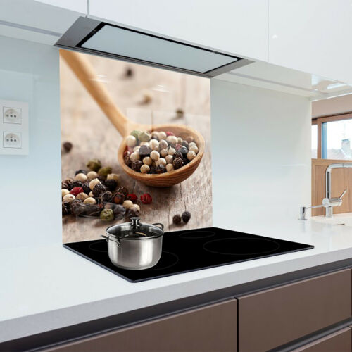 Kitchen back panel made from toughened glass 60x65 cm GLASS PANEL TILE MIRROR
