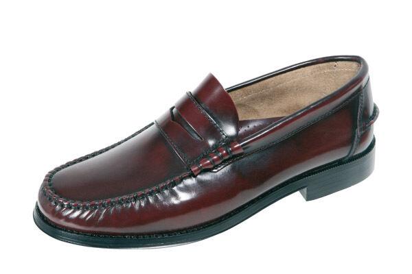 Herren Schuhe PENNY LOAFERS Echtleder Mokassins Größe 47 48 52 49 50 51 52 48 SPANIEN c6c49e
