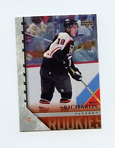 05-06 UPPER DECK YOUNG GUNS ROOKIE RC #202 MIKE RICHARDS FLYERS *60667