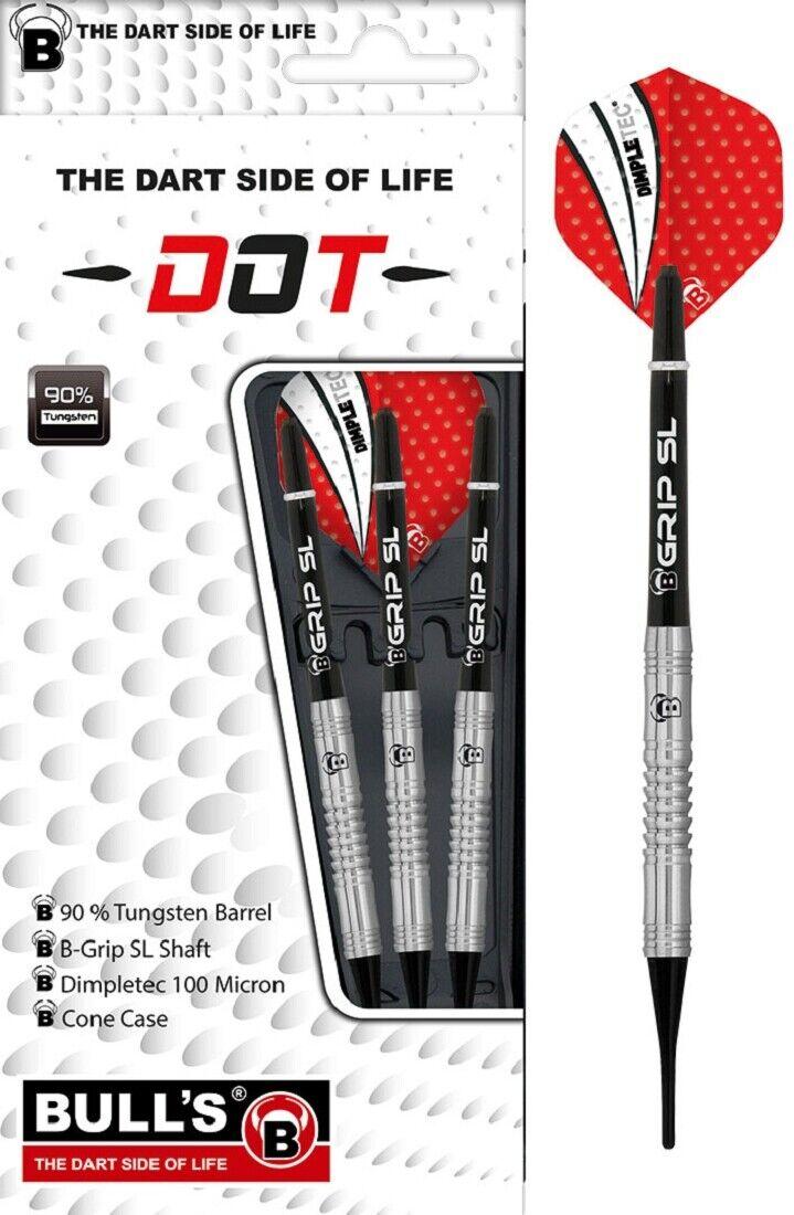 BULL'S Dot D4 90% Tungsten Soft Dart 1 Satz 18 Gr.