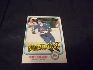 1981-82-OPC-O-Pee-Chee-269-Peter-Stastny-Rookie-Nordiques-MINT