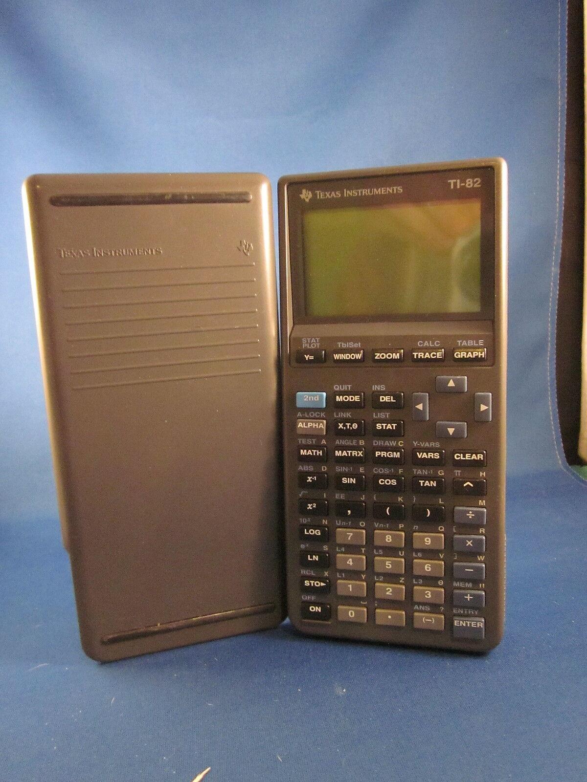 Texas Instruments TI-82 Grafik Grafik Grafik Rechner ac60df