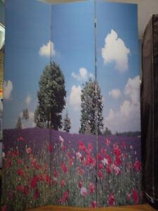 Vic, SA n NSW Metro Buyers -FREE POST- Garden n Beach Canvas divider (7004)