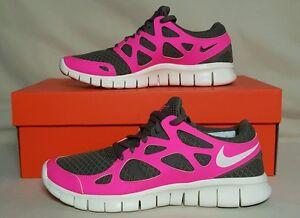 Nike Free Run+ 2 Women's Size 6.5 443816 206 Hot Pink/Gray New In Box