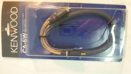 KENWOOD RCA CA5W 0.5 M RCA Cable De Alta Calidad