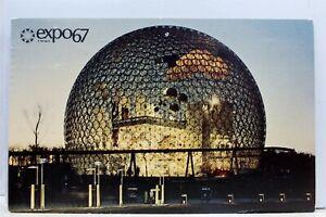 Canada-Quebec-Montreal-Expo-67-United-States-Pavilion-Postcard-Old-Vintage-Card