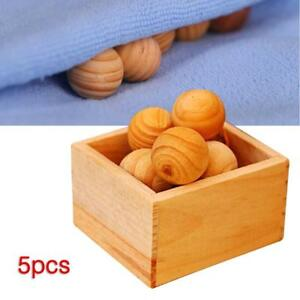 Natural-Cedar-Wood-Moth-Balls-Lavender-Camphor-Repellent-Wardrobe-Drawer-Home-XI