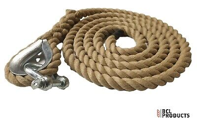 Gym Battling Rope 32mm Synthetic Hemp Rope x 10 Metres Fitness Training