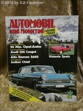 Automobil & Motorrad Chronik 3/84 Victoria Spatz Indian