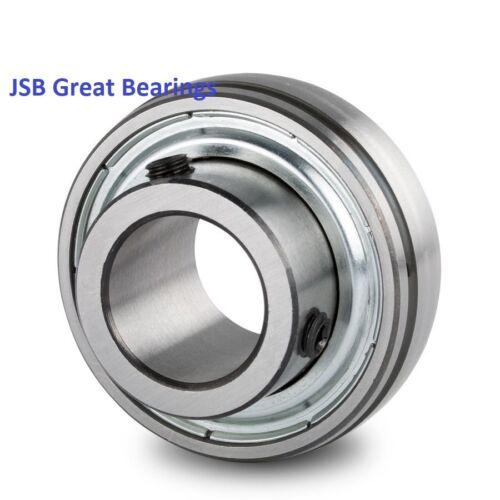 "SB205-16 1/"" Insert Ball Bearing with Set Screws SB205 1-inch ID Qty.2"