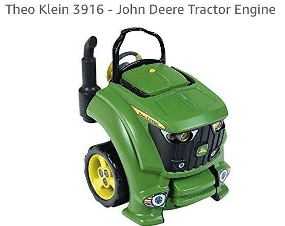 Enfants Jouet Set John Deere Tracteur Moteur Réparation service. Neuf et Scellé