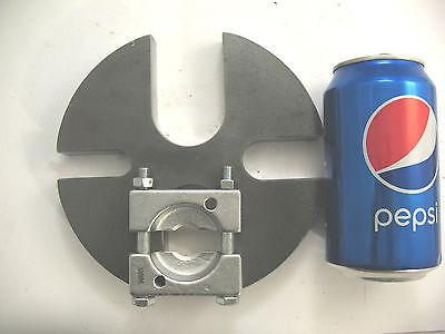 """6"""" Steel Anvil Wheel + Bearing Splitter Separator Shop Arbor Press Plate Set Sangue Nutriente E Regolazione Dello Spirito"""