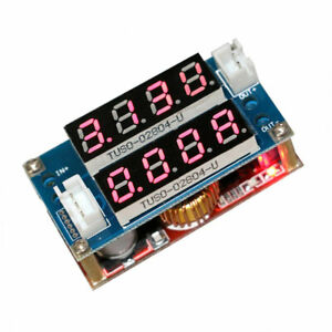 5A-Adjustable-CC-CV-Step-Down-Receiver-Charge-Module-Voltmeter-Ammeter-Display