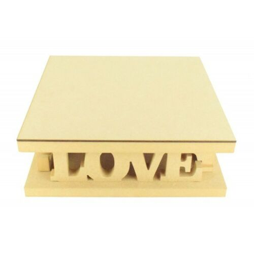 Love CTO202 18mm MDF Square Wedding Cake Stand Variety of Sizes Available