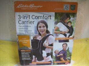 58a0fe76446 Eddie Bauer® 3-in-1 Comfort Baby Carrier - Black 71534528742