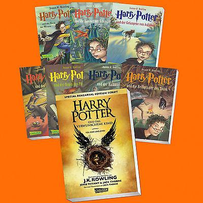Harry Potter Volume 1 7 The Haunted Child 8 Paperback Ebay