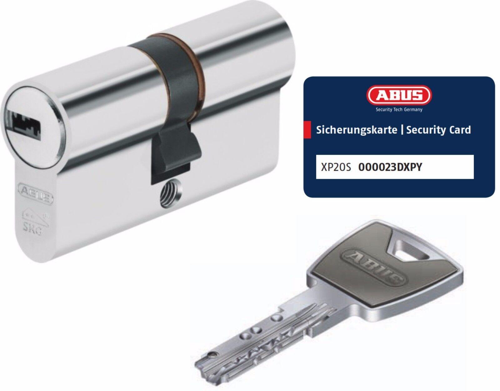 ABUS XP20S Doppelzylinder Schließzylinder 35 55mm mit 3 bis 10 Schlüssel  | Rabatt  | Ausgezeichnetes Preis  | Schöne Kunst  | Qualitätsprodukte