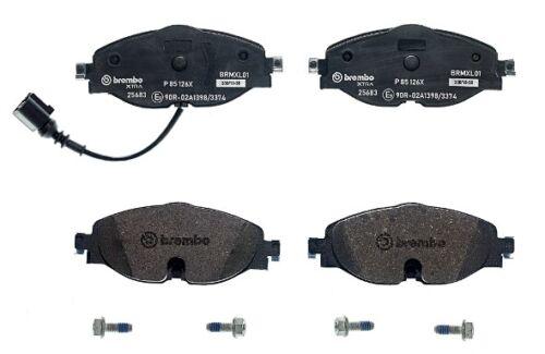 1x P 85 126X BREMBO Bremsbelagsatz Scheibenbremse für AUDI,SEAT,SKODA,VW