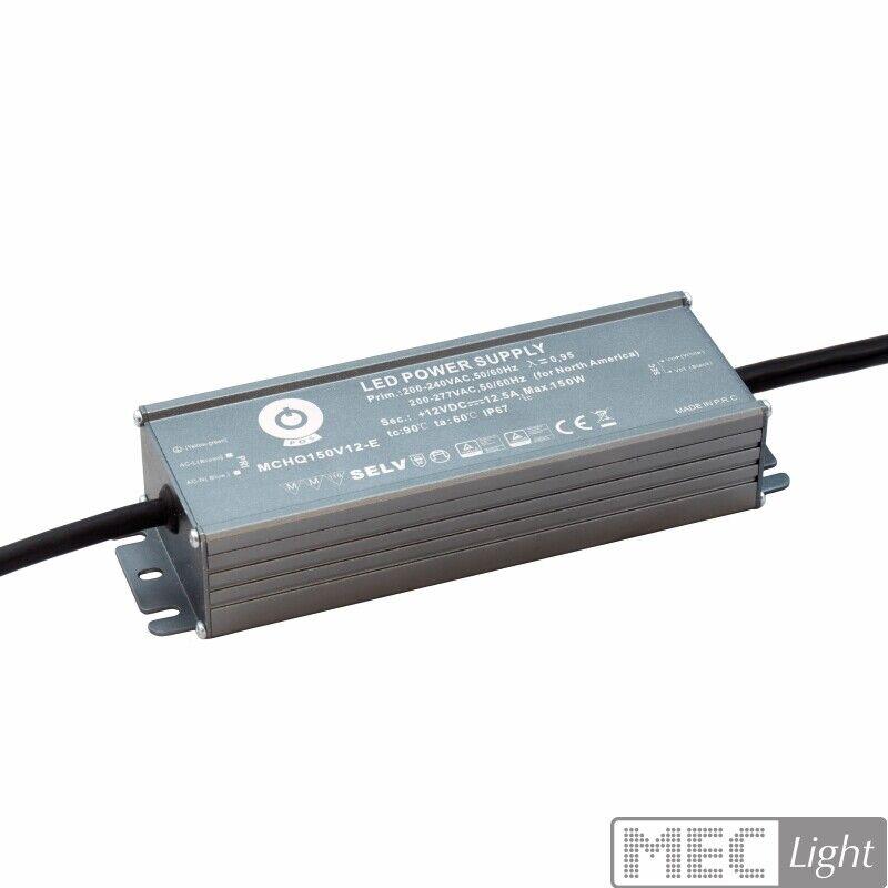 Transformador LED con tensión constante 24v dc 6,25a - 150w fuente de alimentación impermeable (driver)