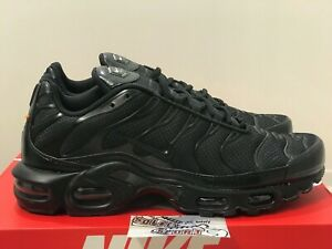 cheap 2018 shoes exquisite design Details about New Nike Air Max Plus TN Triple Black 604133 050 97 95  Vapormax 270 720 Mens