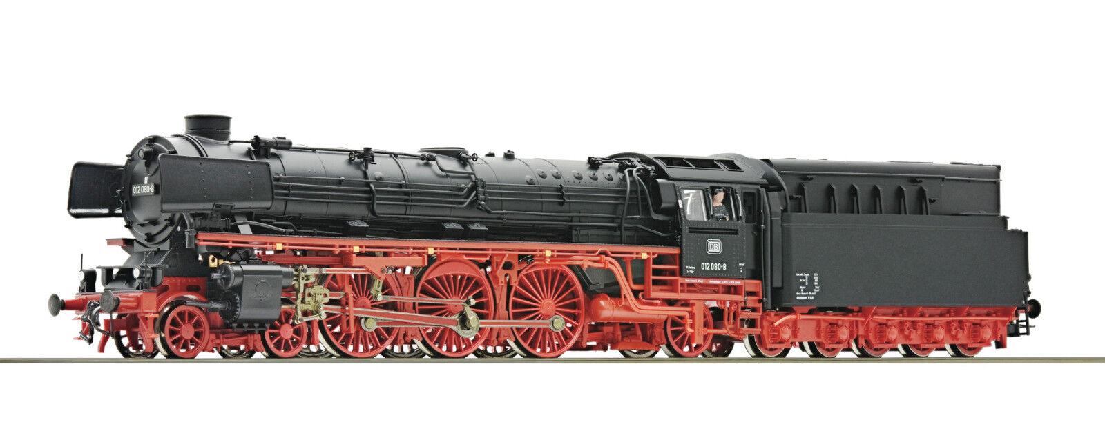 ventas en línea de venta Roco 72136-locomotora a vapor br 012 080, DB, Época IV, IV, IV, pista h0, nuevo & OVP  Ven a elegir tu propio estilo deportivo.