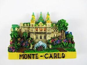 Aimant Monte Carlo Moulés, Souvenir France France, Neuf. *-enir Frankreich France,neu.*fr-fr Afficher Le Titre D'origine Large SéLection;