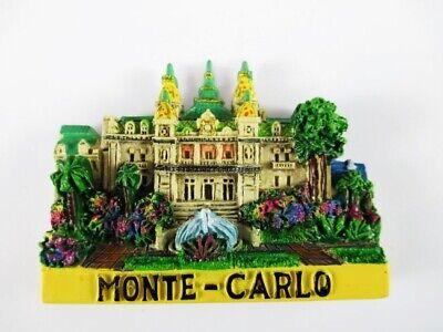 Begeistert Magnet Monte Carlo Polyresin,souvenir Frankreich France,neu.*
