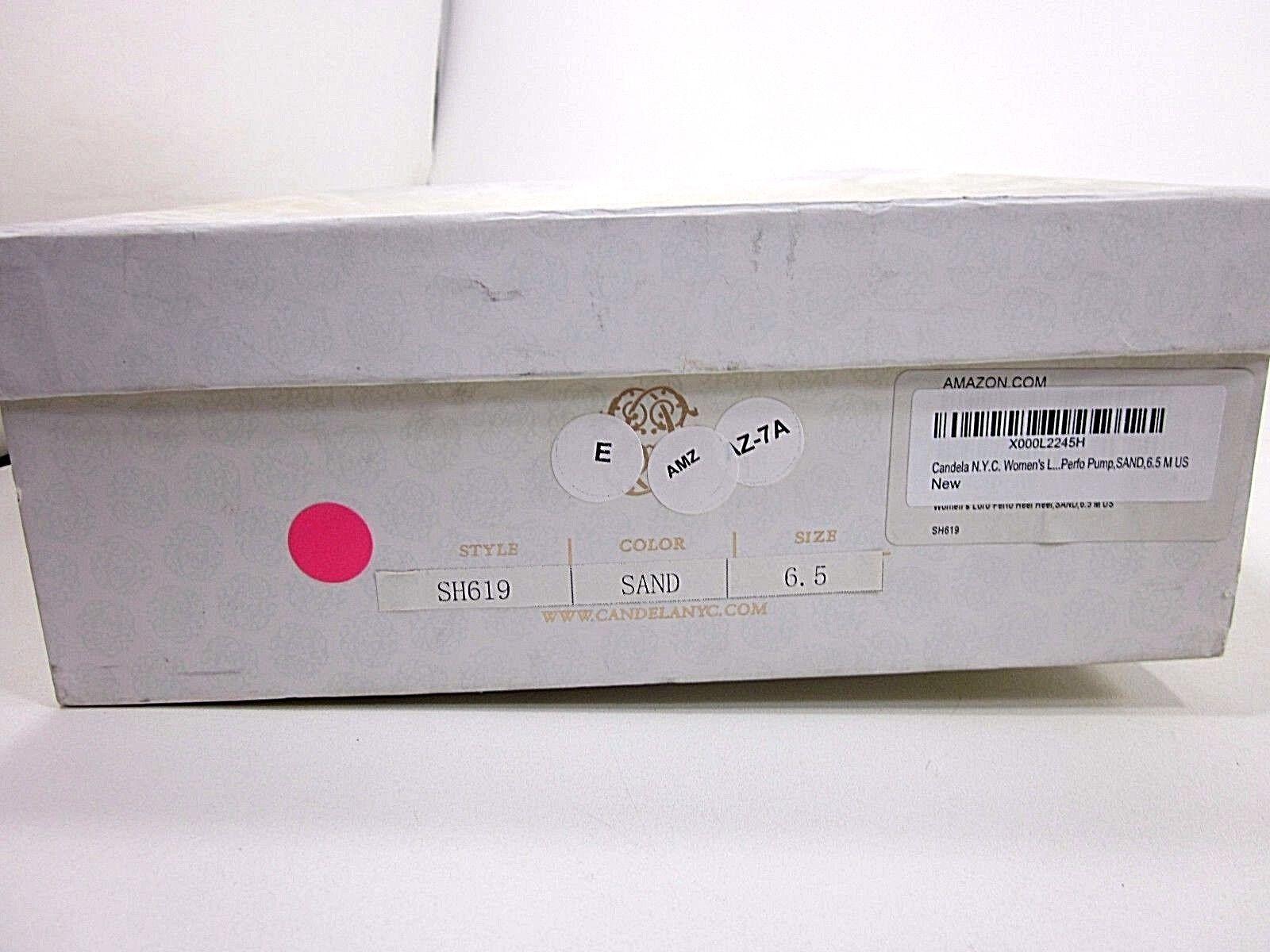 CANDELA N.Y.C, LORO PERFO PUMP, Damenschuhe, M, SAND, US SIZE 6.5 M, Damenschuhe, NEW WITH BOX 6b78c0