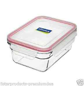 NEW GLASSLOCK RECTANGULAR CONTAINER 17L BPA FREE GLASS FOOD STORAGE