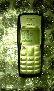NOKIA 1100, Black Phone, Firmware 3.31 RH-15 - Vintage Phone