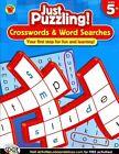Crosswords & Word Searches Ages 5 Publishing Carson-dellosa PB
