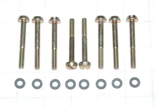 "1967-69 CORVETTE HOLLEY LIST 3659 CORRECT BOWL SCREW /& GASKET KIT 16PC 2.0/"" LONG"