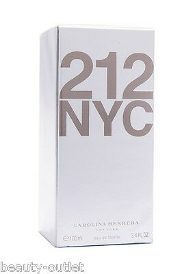 Carolina Herrera 212 WOMEN EDT 100ml 3.4oz Eau de Toilette Perfume NEW Woman NYC