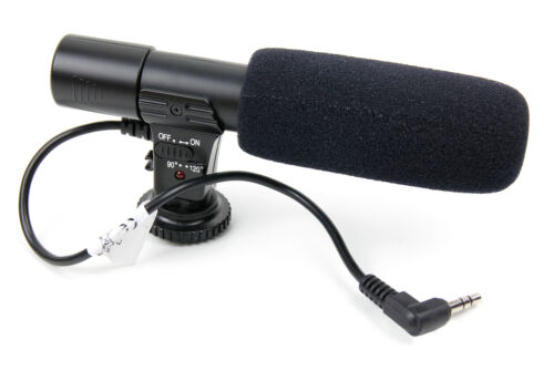 EOS 700D Quality Stereo SLR Camera Microphone for the Canon EOS 650D EOS 6D