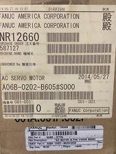 New Listingnew Fanuc A06b 0202 B605s000 Ac Servo Motor A06b0202b605s000