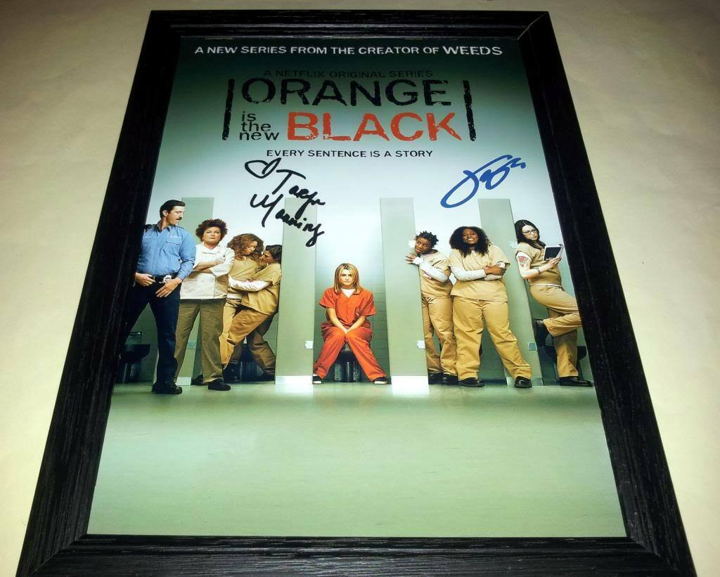 ORANGE IS THE NEW BLACK TV Show PHOTO Print POSTER Cast Art Taylor Schilling 002