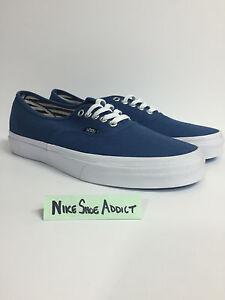 womens vans pale blue authentic deck club trainers nz