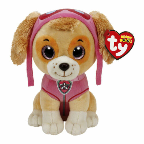 "15cm Paw Patrol Skye Cockapoo Plush Soft Toy Ty Beanie Boo/'s Collection 6/"""