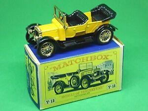 Matchbox-antano-Y13-2-1911-Daimler-tipo-A12-tipo-039-e-039-nuevo-modelo-Caja-1st-Edicion