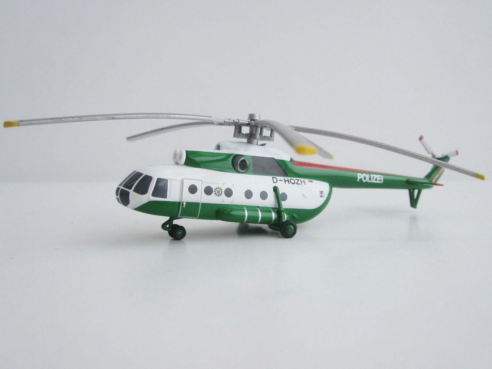 POLIZEI Brandenburg Mil Mi-8 Herpa 1 200 Mi-8T Hubschrauber Helicopter 554893