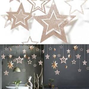 7pcs-Christmas-Hanging-Star-Pendant-Xmas-Party-Tree-Ornaments-Home-Decoracion